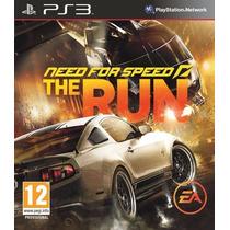 Need For Speed The Run - Ps3 Mídia Física Lacrado