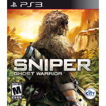 Jogo Sniper Ghost Warrior Para Ps3 /semi Novo/ Barato!!!!