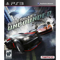 Ridge Racer: Unbounded Ps3 Namco