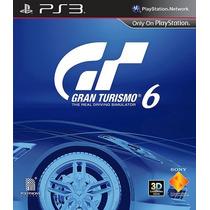 Gran Turismo 6 Ps3 Cod Psn Envio Imediato