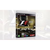 Game Ps3 - F1 2013 Edição Classica - Lacrada - Em Português