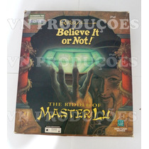 Jogo Pc - The Riddle Of Master Lu - Original Na Caixa