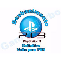 Desbanimento Ps3 Psid Idps Console Id Exclusiva Psn Online