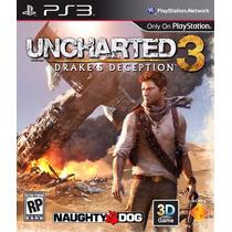 Uncharted 3 Drakes Deception Ps3 Português Envio Imediato
