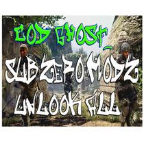 Unlook All Call O Duty Ghost Ou Mw3 Subzero Modz