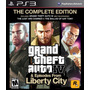 Ps3 - Grand Theft Auto Iv Gta (the Complete Edition)