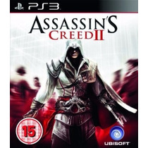 Jogo Ps3 - Assassins Creed Ii 2 Original Semi Novo