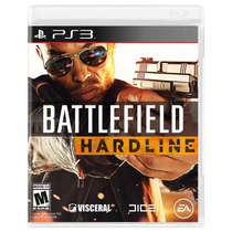 Battlefield Hardline Ps3 Português Novo Original Lacrado