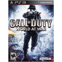 Call Of Duty World At War Original Ps3