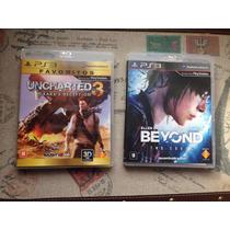 Jogos Uncharted3 | Drakes Deception & Beyond 2 Soul | Novos