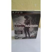 Ps3 - Tomb Raider Edição Especial Com Livro E Luva -original
