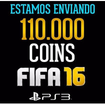 110.000 Coins Fifa 16 Ps3 Ultimate Team - Playstation 3