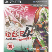 Way Of The Samurai 4 Ps3 Em Ingês