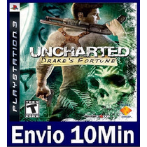 Uncharted 1 Drakes Fortune Ps3 Código Psn Legendas Portugues