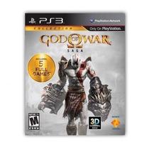 Jogo God Of War Saga 5 Full Games Playstation 3