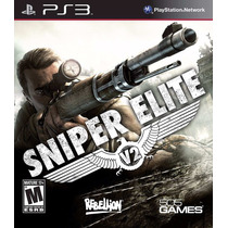 Jogo Sniper Elite Para Ps3 /semi Novo/ Barato!!!!