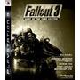 Fallout 3 Ps3 Original Mídia Física Pronta Entrega