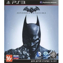 Batman:arkham Origns Ps3 Original Cod Psn Envio Rápido