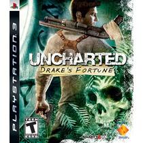 Ps3 Uncharted Drakes Fortune Português Envio Imediato