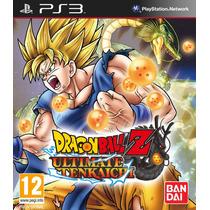 Dragon Ball Z Ultimate Tenkaichi - Ps3