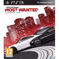 Need For Speed Most Wanted + Hot Pursuit + 4jogos Brinde Ps3