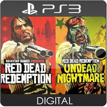 Red Dead Redemption + Undead Nightmare Ps3 Psn Midia Digital