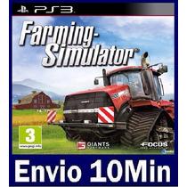 Farming Simulator - Ps3 Código Psn