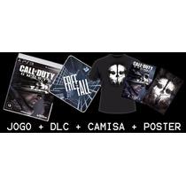 Call Of Duty: Ghosts + Camisa + Dlc + Poster! Edição Especia