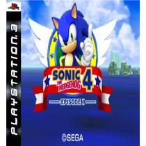 Sonic The Hedgehog 4 Ep1 Ps3 Psn Midia Digital Original