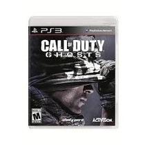 Jogo Call Of Duty Ghosts Para Ps3 - Midia Física