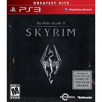 Skyrim Elder Scrolls V - Ps3