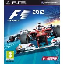 F1 Formula 1 2012 Ps3 Psn Midia Digital