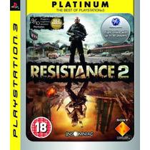 Resistance 2 Platinum Ps3 Sony