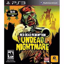 Manual Instruções Red Dead Redemption Undead Nightmare Ps3