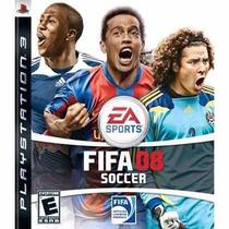 Jogo Fifa Soccer 08 Ps3 Original Usado