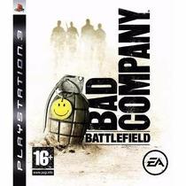 Manual Instruções Do Jogo Battlefield: Bad Company Ps3