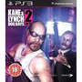 Manual Instruções Kane & Lynch 2 Dog Days Ps3 Original