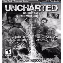 Manual Instruções Do Uncharted Dual Pack Ps3 Preto E Branco