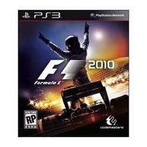 Manual Instruções Jogo Formula 1 F1 2011 Para Ps3 Original