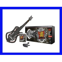 Guitar Hero Ps3 E Guitarra Warriors Of Rock Playstation 3