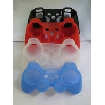 Capa Case Silicone Controle Ps3 Ps2 Pc Joystick
