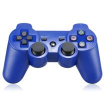 Controle Seis Eixos Sem Fio Bluetooth Para Ps3 (azul)