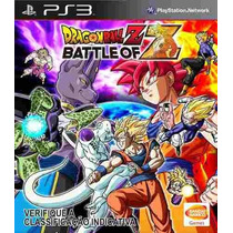 Dragon Ball Z: Battle Of Z Ps3 Portugues Pronta Entrega