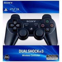 Controle Ps3 Sem Fio Ps3 Dualshock 100% Original!