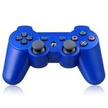 Controle Para Ps3 Sem Fio Dualshock Wireless Azul