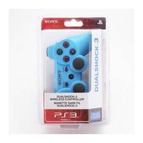 Controle Sem Fio Para Playstation 3 (azul) Original*****