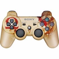 Controle God Of War Ps3 Original Sony Dual Shock 3 Wireless