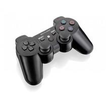 Controle Sem Fio Pc Ps3 Ps2 Recarregável Dual Shock Wireless