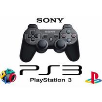 Controle Ps3 Sem Fio Dualshock 3 Original Sony Game Preto