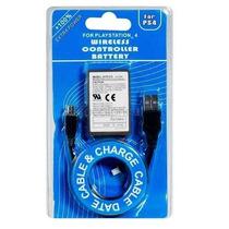 Kit Bateria P/ Controle Ps4 2000mah + Cabo Usb